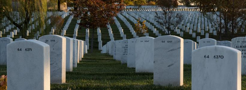 Autumn in Arlington National Cemetery