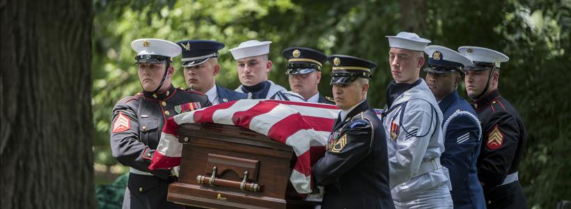 Former Secretary of Defense Frank Carlucci Funeral
