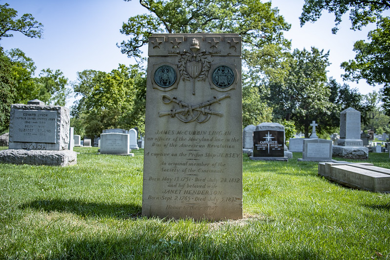 james lingan headstone