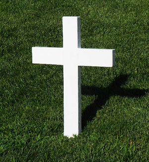 Cross at the Robert F. Kennedy Gravesite