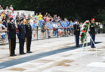 Wreath Laying Ceremony